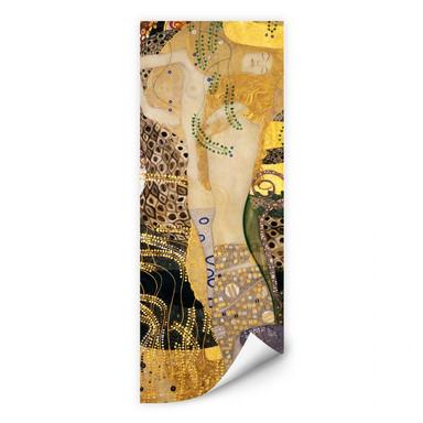 Wallprint Klimt - Wasserschlangen I.