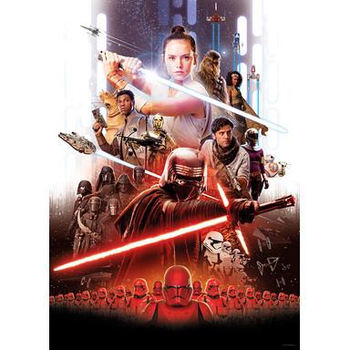 Wandbild Star Wars Movie Poster Rey - Bild 1