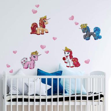 Wandsticker Filly Unicorn Romance Set