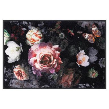 Wash&Dry Decor Fussmatte Night Roses
