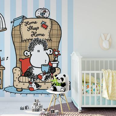 Fototapete sheepworld Home Sheep Home Tea Time