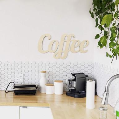 Holzbuchstaben Coffee