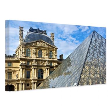 Leinwandbild Der Louvre