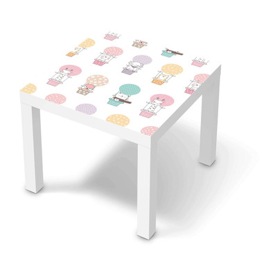 Möbelfolie IKEA Lack Tisch 55x55cm - Flying Animals
