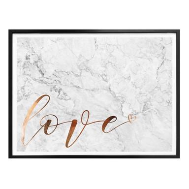 Poster Kupferoptik - Love 02