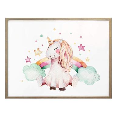 Poster Kvilis - Träume von Einhörnern