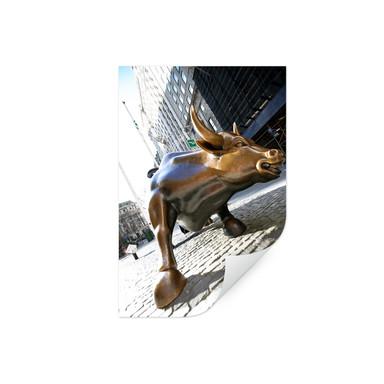 Wallprint The Charging Bull