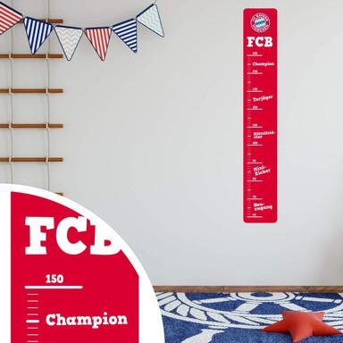 Wandsticker FC Bayern München Messleiste - Bild 3