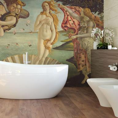 Fototapete Botticelli - Geburt der Venus - 336x260cm - Bild 1