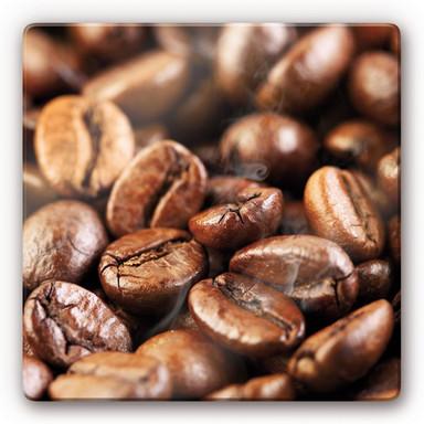 Glasbild Coffee 4