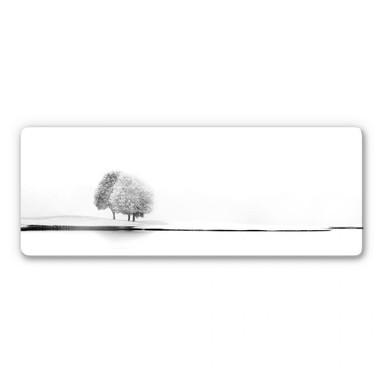Glasbild Huybighs - Ein stiller Moment - Panorama