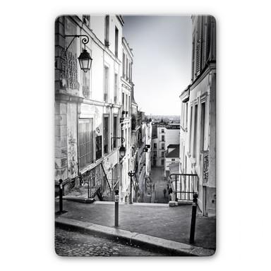 Glasbild Montmartre