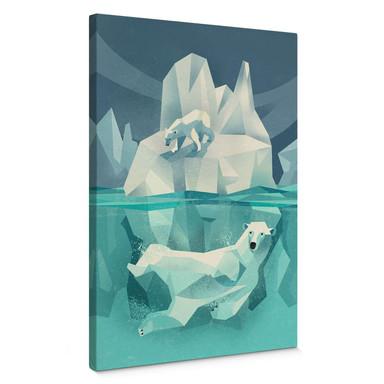 Leinwandbild Braun - Polar Bear