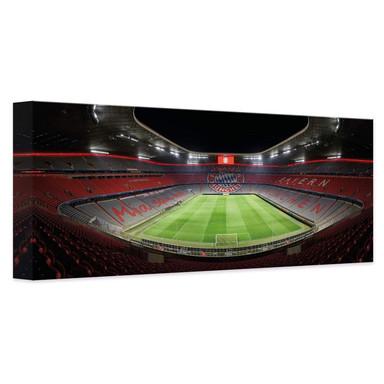 Leinwandbild FCB Stadion bei Nacht