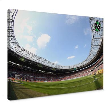 Leinwandbild Hannover 96 - Stadion Innenansicht