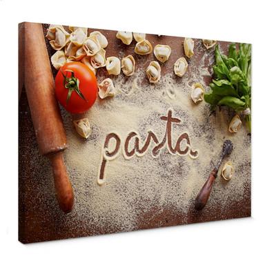 Leinwandbild Pasta - Tortellini