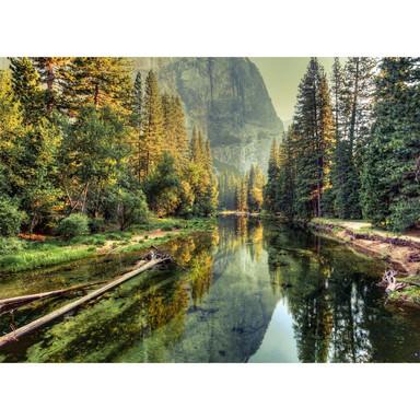 Livingwalls Fototapete Designwalls Mountain River Wald - Bild 1