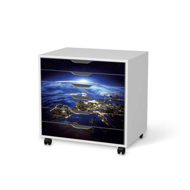 Möbelfolie IKEA Alex Rollcontainer 6 Schubladen - Earth View