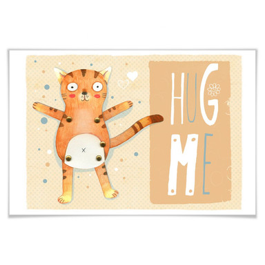 Poster Loske - Hug me