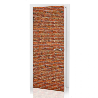 Türdeko Ziegelsteinmauer