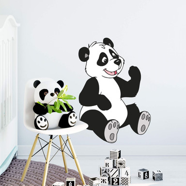 Wandsticker Benjamin Blümchen Panda Paula