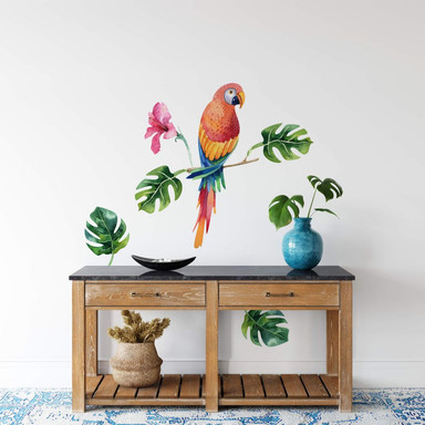 Wandtattoo Kvilis - Papagei 02
