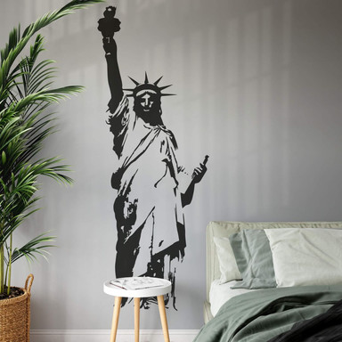 Wandtattoo Statue of Liberty