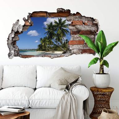 3D Wandtattoo Carribean Flair
