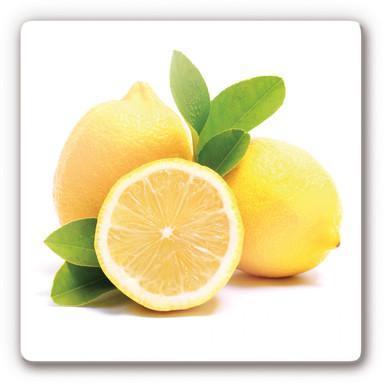 Glasbild Lemons