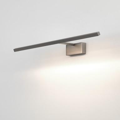 LED Aufbaubilderleuchte Mondrian in Nickel-Matt 10.8W 219lm 600mm