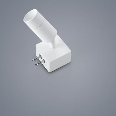 LED Lichtschienen Spot Vigo in weiss-matt 4W 360lm Endverbinder