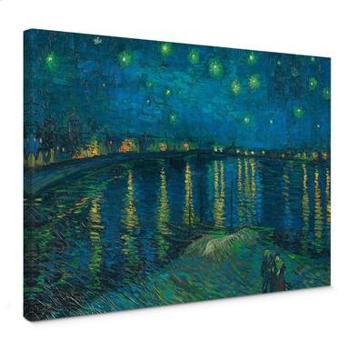 Leinwandbild van Gogh - Sternennacht 1888