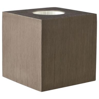 Tischleuchte Cubic in Braun E27