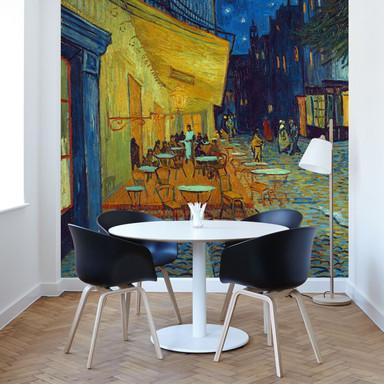 Fototapete Van Gogh - Café-Terrasse am Abend