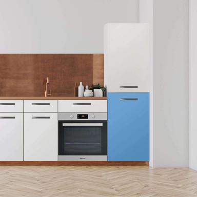 Klebefolie - Hochschrank (60x100cm) - Blau Light- Bild 1