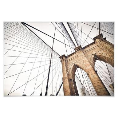 Poster Brooklyn Bridge Perspektive 02