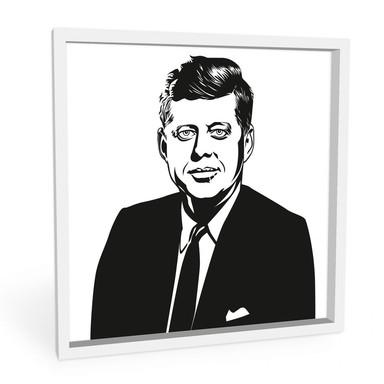 Wandbild John F. Kennedy