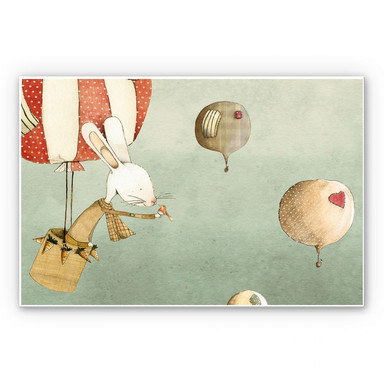 Wandbild Loske - Ballonfahrt