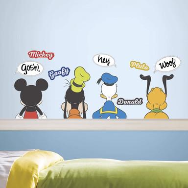 Wandsticker Disney Mickey Mouse und seine Freunde - Bild 1