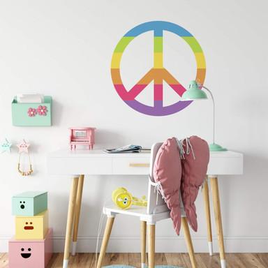 Wandtattoo Emoji Peace Zeichen