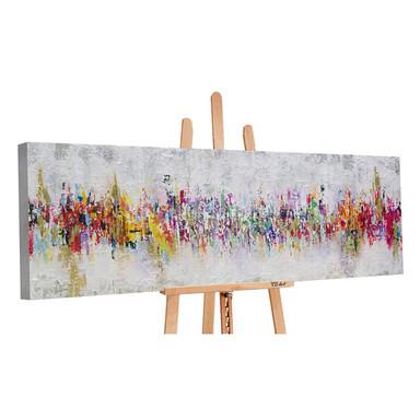 Acryl Gemälde handgemalt Abstraktion II 150x50cm - Bild 1