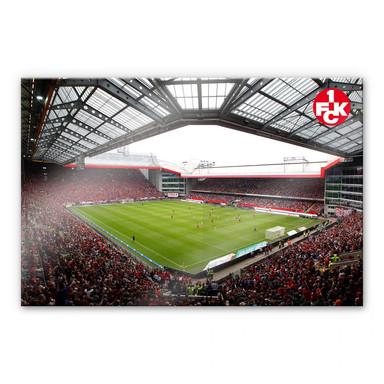 Acrylglasbild 1. FC Kaiserslautern - Stadion Innenansicht