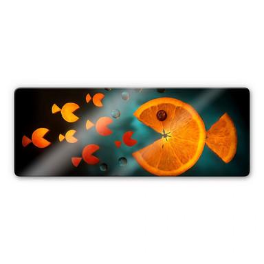 Glasbild Ianeva - Sweet Carrot - Panorama