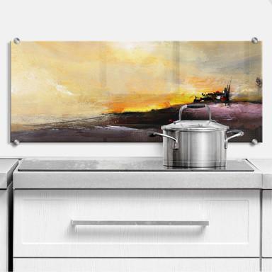 Küchenrückwand Niksic - Good Morning - Panorama
