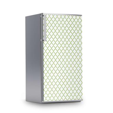 Kühlschrankfolie 60x120cm - Retro Pattern - Grün- Bild 1