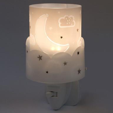 LED Kinderzimmer Nachtlicht Moon in Grau