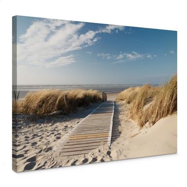 Leinwandbild - An der Ostsee