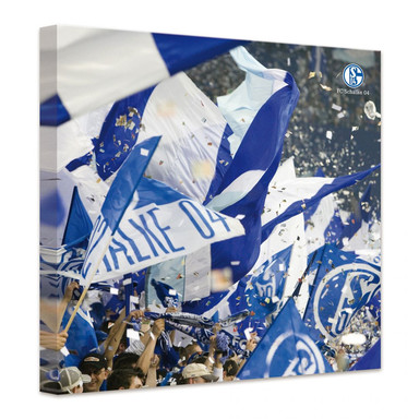 Leinwandbild FC Schalke 04 - Emotionen
