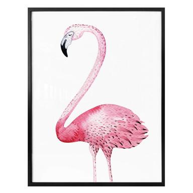 Poster Kvilis - Pink Flamingo 01