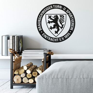 Wandtattoo Eintracht Braunschweig Logo einfarbig